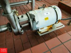 "10 HP Centrifugal Pump, 3500 RPM, 2""x 3"": Located In Raw Receiving - Rigging Fee: $ 100"