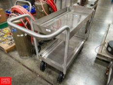 2-Tier S/S Cart, Located In Dry Storage - Rigging Fee: $ 50