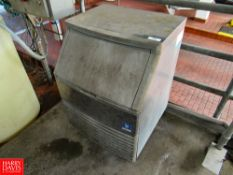 Manitowoc Ice Maker, Model QD0-2/2A, SN: 310081309: Located In: Raw Receiving Dock - Rigging