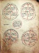 """Awd"""" N""""g""""st (Der Kreis des K""""nigs).Ge'ez-Handschriftauf Pergament. 18. Jhdt. Ca. 175:125 mm. 85 Bll."""