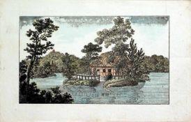 """Album.Dt. Handschrift auf Papier. Kassel u. a.1812-1815. 110:158 mm. 38 Bll. mit 38 Eintr""""gen u."""