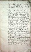 (Carl Eugen, Herzog von Wrttemberg).Amtschreiberey Stuttgardt. Befehl Buch.Vom 5tn Nov: J. 1778.