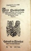 Ernewerte Mandata vnnd Landtgebott,Deá Durchleuchtigisten Frstenvnnd Herrn ... Maximilian