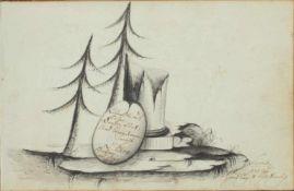 Wilde, A.Gewidmet der Freundschaft. Vorwiegend dt.Handschrift auf Papier. Berlin, Ratzeburg, Lbeck,