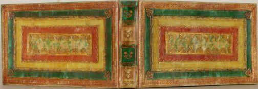 J. F. H.Freundschaftsalbum. Vorwiegend latein.Handschrift auf Papier. Breslau u. Lzg. 1735-1739.