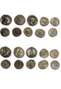 Rome Elagabal (218-222), Denarii (7), rev. ABVNDANTIA AVG, rev. LIBERTAS AVG, rev. SACERD DEI