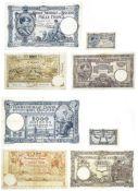 Belgium Banque Nationale de Belgique, 1000 Francs, 02 08 1922, 040.P.821, 00989821, signatures