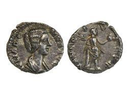 Rome Julia Domna (193-217), Denarius, 2.91g, Rome, struck under Septimus Severus, 193-196 A.D.,