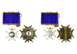 Luxembourg Order of Merit of Adolph of Nassau, Commander's cross, 46mm, civilian and Grand officer's