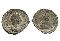 Rome Julia Paula, first wife of Elagabal (219-220), Denarius, 3.93g, Rome, draped bust right, rev.