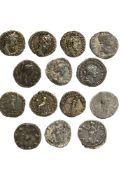 Rome Lot of 7 Denarii, including Lucilla, rev. VENVS ; Commodus (3), rev. PM TRP XIII IM-P VIII