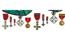 Great Britain mixed lot including Order of the British Empire, M.B.E., breast badge, civilian, 2nd