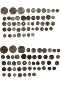 Germany mixed lot of 19-20th Centuries, including Empire, 1/2 Mark, 1915 ; 50 Pfennig, 1920 A ; 20