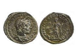 Rome Elagabal (218-222), Denarius, 2.77g, Rome, 221-222, bearded and draped bust right, rev.