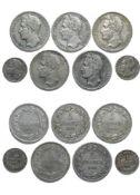 Belgium Leopold I (1831-1865), 5 Francs, laureate head (5), 1833 position B, 1847 position A, 1848