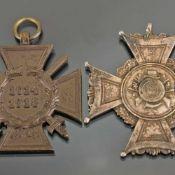 """Paar Auszeichnungen III. Reich 1 x Schützenabzeichen, rs. bezeichnet """"2. Minister 1936-37"""", ca. 45 x"""