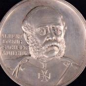 Historische Sachsen-Medaille 19. Jh. hrsg. auf das 17. Mitteldeutsche Bundesschießen Leipzig 1898,