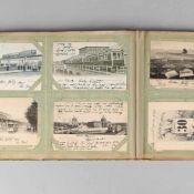 Konvolut historische Postkarten insg. wohl über 140 Karten, viel Zeitraum ca. 1898-1902, dabei u.