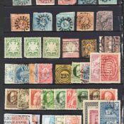 Konvolut Briefmarken postfrisch und gestempelt, dabei div. Ausgaben Altdeutschland (Bayern,