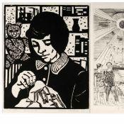 Gabriele Meyer-Dennewitz und Ulrike Neubert insg. 2 Grafiken, 1 x G. Meyer-Dennewitz (1922 Leipzig -