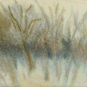 Schmidt-Kirstein, Helmut (1909 Aue - 1985 Dresden) Aquarell und Kohle auf Papier, Baumgruppe, am