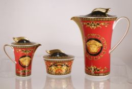 "Rosenthal Versace ""Medusa"" Coffee Set"