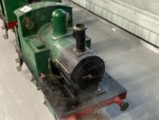 Collectables: Scratch built 3½ins. gauge Tich steam locomotive, (Collectors' item only not to be