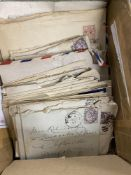 Postal History/Stamps: Collection of eighteen World covers, with WWII opened by censor examples,