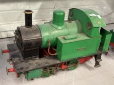 Collectables: Scratch built 3½ins. gauge Big Tich steam locomotive, (Collectors' item only not to be