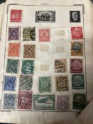 Stamps: 19th and 20th cent. Stanley Gibbons Improved album World mainly used and hinged, a Viking