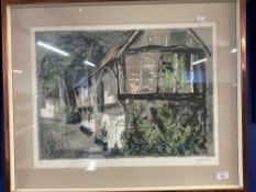 Limited Edition Prints: John Piper (1903-1992) Courthouse, Long Crendon, Buckinghamshire