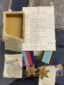 R.A.F. WWII: Air crew Europe medals group to J.H. Brooks grandson of Henry Joseph Bailey. Flight