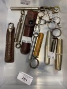 Wine Collectables/Corkscrews: Late 19th/early 20th cent. Barrel corkscrews (7), wire perfume
