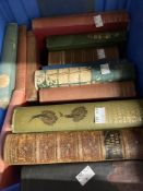 Books: 19th cent. and later, seventeen titles on various subjects including Sporting Magazine