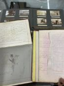 Photographs & Ephemera: Two albums containing family & social history photo's from 1907-1911, plus
