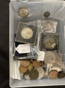 Numismatics: Elizabeth II, Charles & Diana, and anniversary 5/- crown (9) 50 years £5, George VI