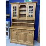 Contemporary bespoke oak dresser made by Cheverell Furniture at a cost of over £2000. 53ins. x
