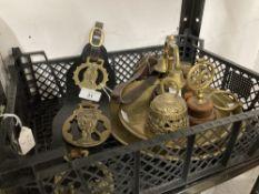 Arts & Crafts: Metalware Joseph Sankey & Son Ltd Neptune ware, 1896-1914, lizard skin effect brass