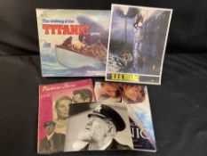 R.M.S. TITANIC: Lobby cards & photos to include SOS Titanic, Night to Remember, The Sinking of the