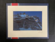 R.M.S. TITANIC: Limited edition print 'Exploring a Legend', signed by artist Ken Marschall & Dr