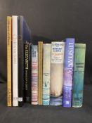 OCEAN LINER - BOOKS: Hardbound vols. to include Lusitania Saga and Myth by Humphrey Jordan.