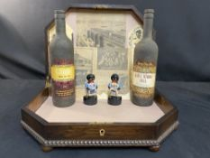 WHITE STAR LINE: Mixed lot of Titanic related memorabilia including gollies, Titanic wine bottles,