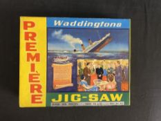 R.M.S. TITANIC: Waddington's Premier 'A Night to Remember' jigsaw, boxed.