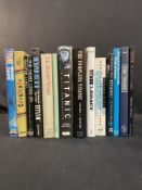 R.M.S. TITANIC - BOOKS: Mixed lot to include Titanic, A Night To Remember, and The Maiden Voyage