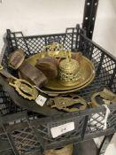 Arts & Crafts: Metalware Joseph Sankey & Son Ltd. Neptune ware, 1896-1914, lizard skin effect