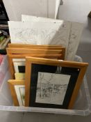 The Gwendoline Ardley Collection: Artist studio works in oil and watercolour of landscapes,