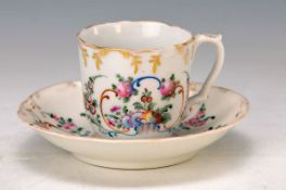 cup with saucer, Moscow, Alexander Popov, around 1810-30, best period of the Manufactoryand best