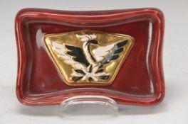 bowl, France, around 1935-40, design: August Heiligenstein, 1891-1976, for Compagnier Francaises