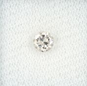 Loose brilliant 0.40 ct very light brown/si Valuation Price: 580, - EUR