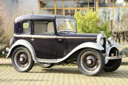 American Austin 5-Window Coupé, Chassis Number: 3755463, first registered 12/1933, oneregistration